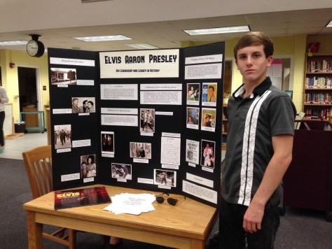 Student's Elvis school project