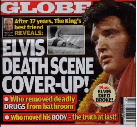 GLOBE cover with Joe Esposito's lies