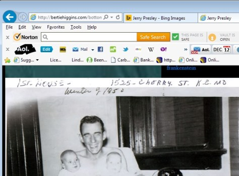 Jerry Presley's father enlarged web address of image