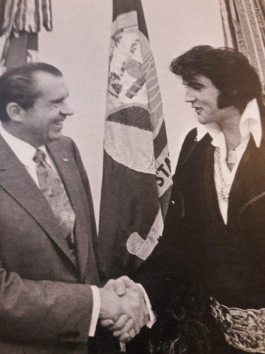 Elvis and Pres. Nixon