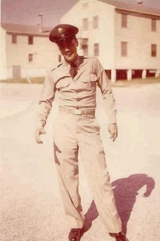 Elvis at Fort Hood, Texas