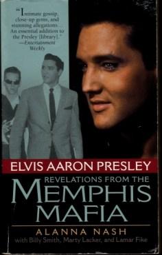 Front of Alanna Nash book Memphis Mafia