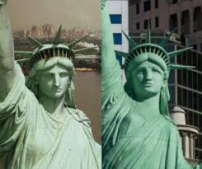 Statue of Liberty .