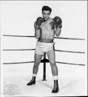 Elvis leg in Kid Galahad from Steven R.