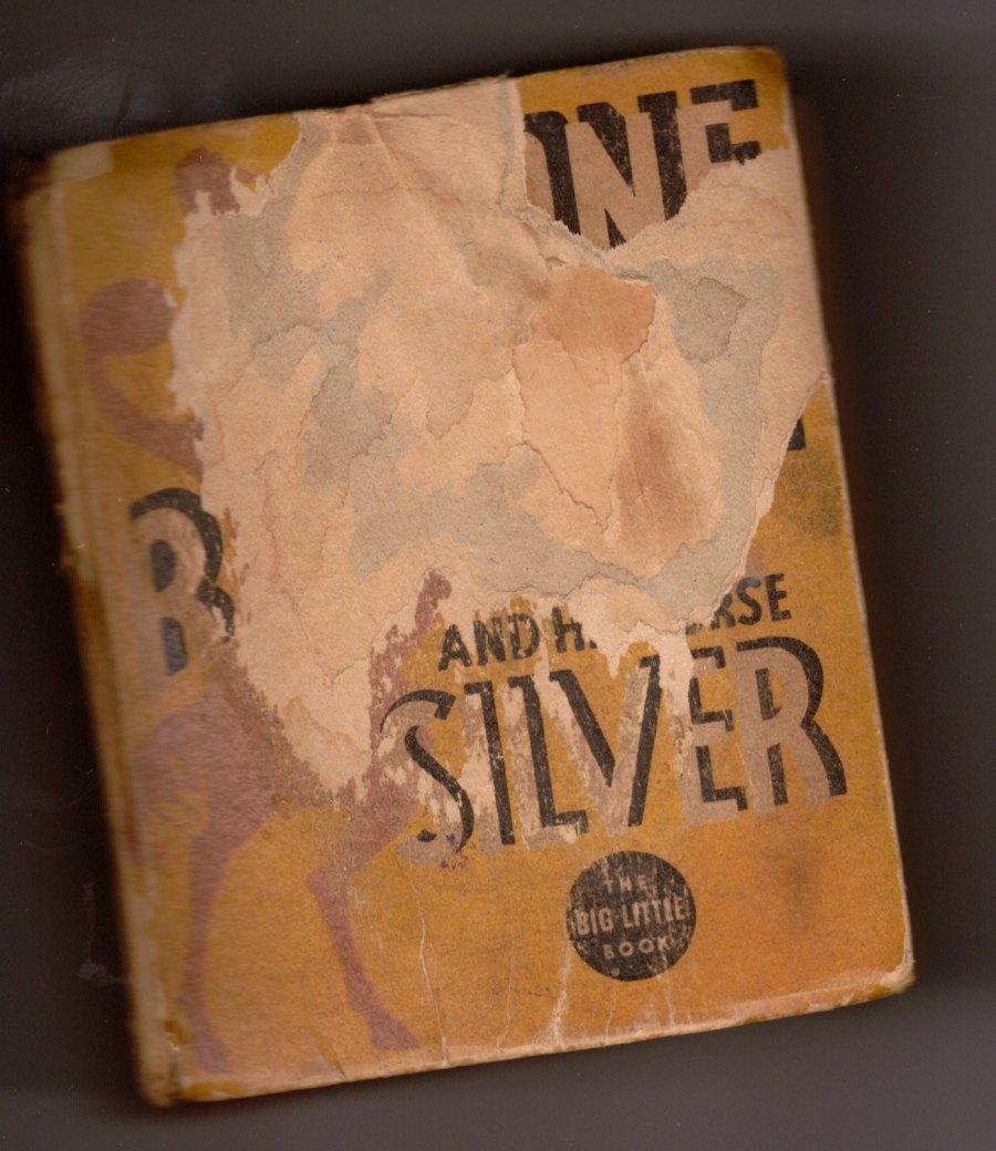 Elvis Jesse Lone Ranger front of book