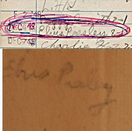 Elvis signatures 1948 library card and The Lone Ranger book in early 1940s