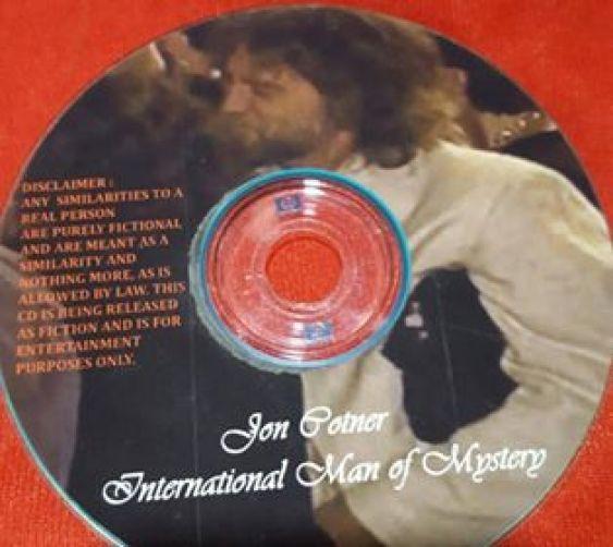 Jon Cotner fake Elvis interview cover