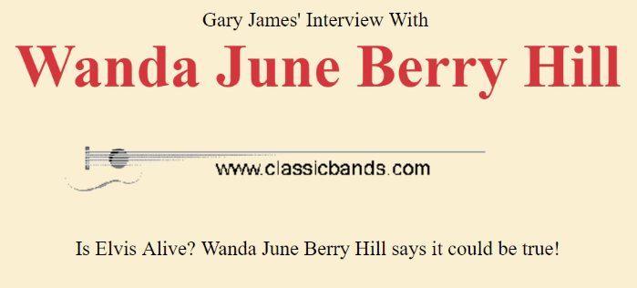 Gary James interview with Wanda June Hill
