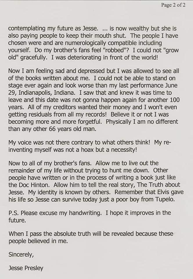Jesse's letter typed page 2