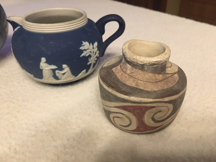 Gifts from Jesse Creamer and pottery May, 2020