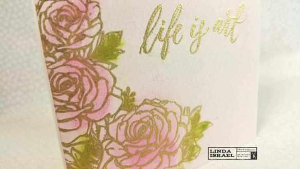 Life is Art Card, in under ten minutes