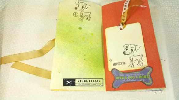 Dog Travelers Notebook Junk Journal