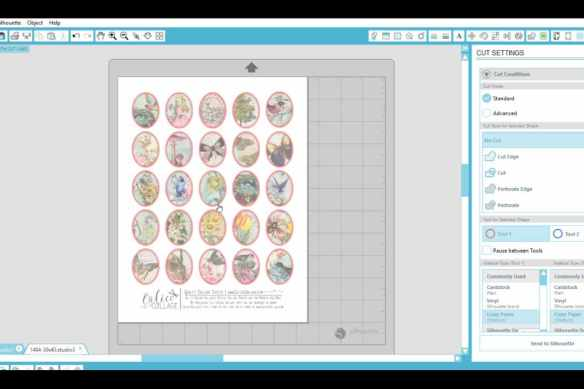 Print and Cut Digital Images with Silhouette