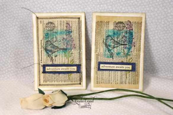 Stamped Journal Cards