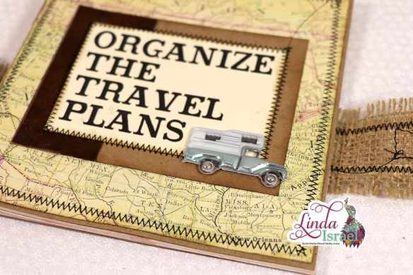 Organize The Travel Plans Journal Tutorial