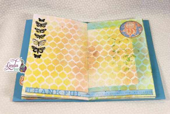 30 days of Thankful 2018 Junk Journal