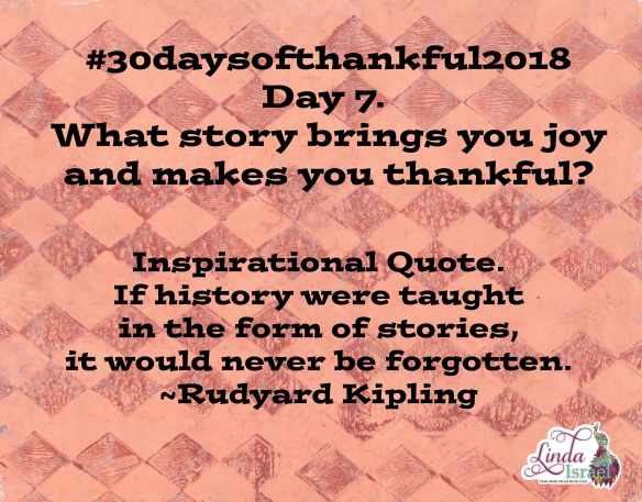 Day 7 of 30 days of Thankful 2018