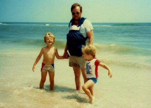 First Cape Hatteras Vacation, 1985