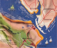 Isle of Sodor 1958 map