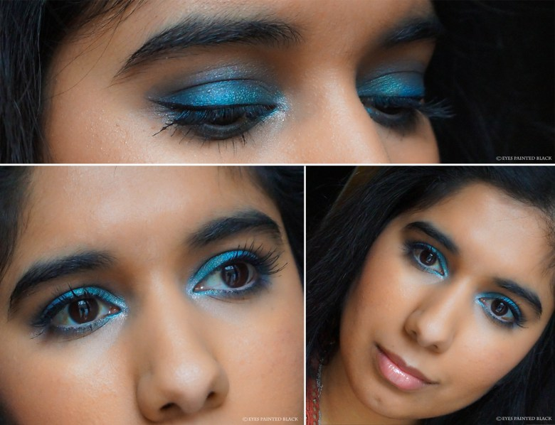 "Dolphin inspired look by Natasja from ""Eyes painted black"""