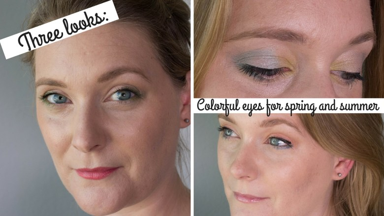Colorful eyes for spring and summer