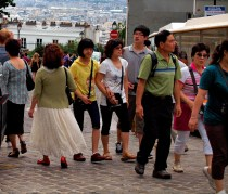 Chinese tourists by zoetnet (Flickr)