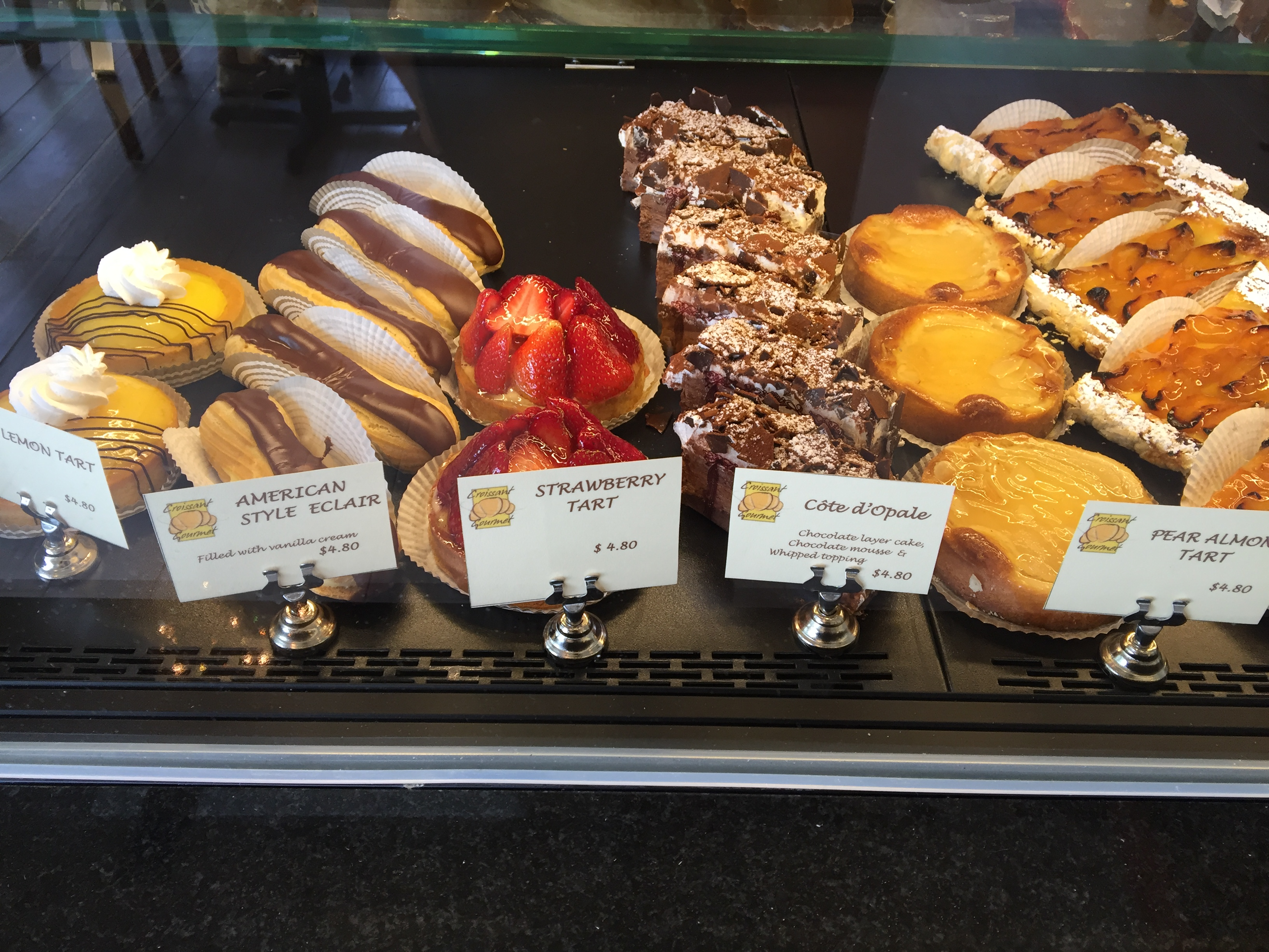 Croissant Gourmet Bakery | Let's Dish With Linda Lou