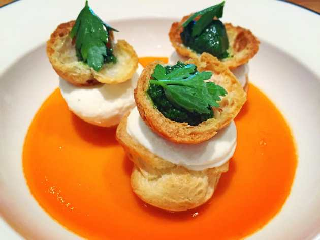 celerriac-and-goat-cheese-profitsrole-tomato-and-parsley