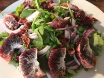 Arugula, Mint, And Blood Orange Salad