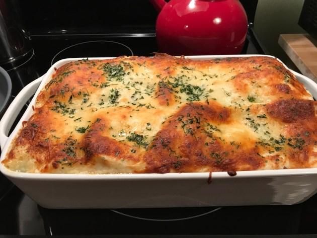 Wid Mushroom And Spinach Lasagna (2)
