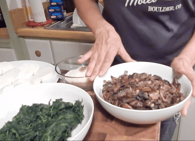 Wild Mushroom And Spinach Lasagna (10)