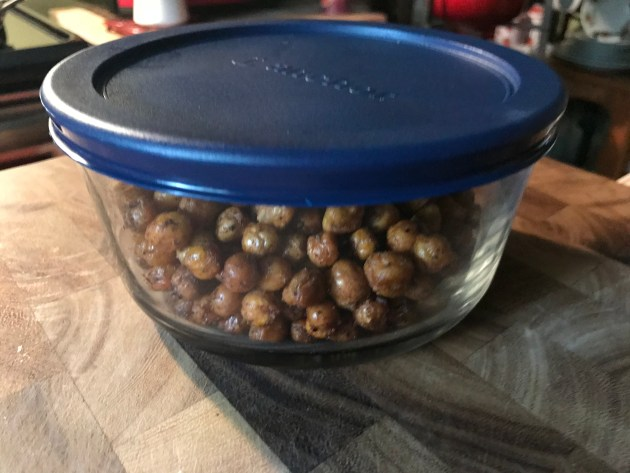 Spiced Roasted Chickpeas