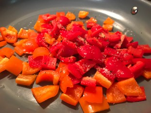 Roasted Potatoes With Red Peppers And Garlic (7)