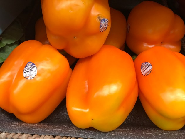 Orange Bell Peppers
