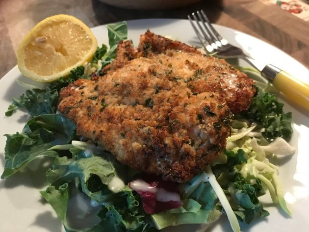 Chicken Milanese-Updated