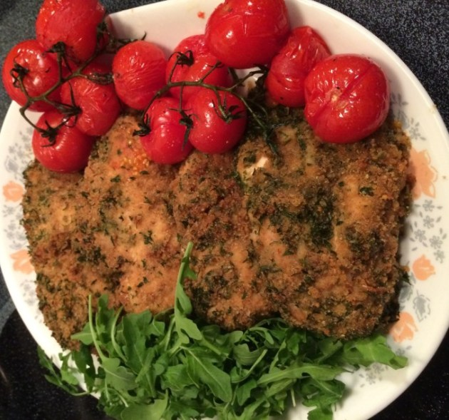 Breaded-Chicken-With-Roasted-Campari-Tomatoes-2093986803-1587808947313