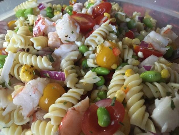 Seafood Pasta Salad (2)