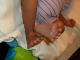 Sweet Little Baby Toes!