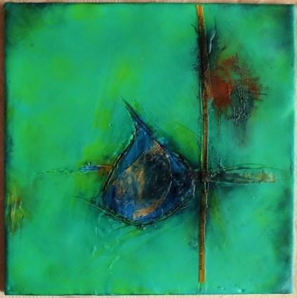 Encaustic Painting - Linda Lenart McNulty