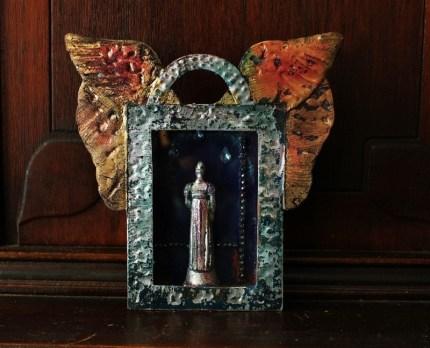 Linda Lenart McNulty-Crying Saint Shrine I (800x649)