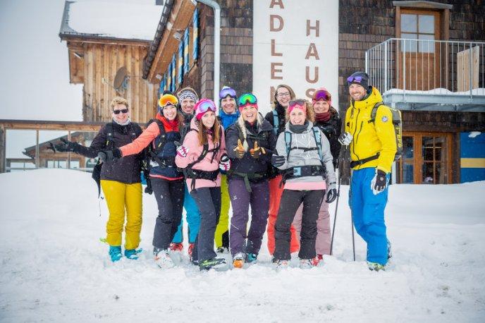 Skitouren-Schnuppertag mit Linda Meixner (c) Andreas Haller - Montafon Tourismus GmbH (1)