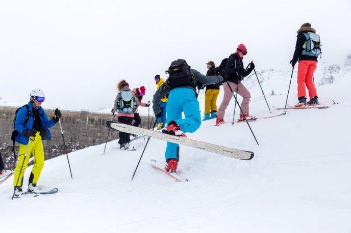 Skitouren-Schnuppertag mit Linda Meixner (c) Andreas Haller - Montafon Tourismus GmbH (26)