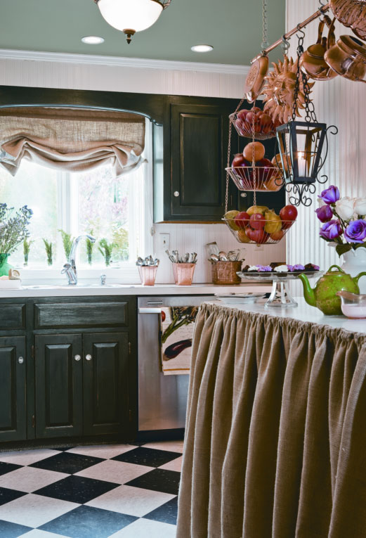 My Kitchen In Country Woman Magazine Linda Merrill