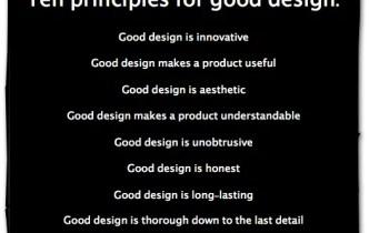 Good Design Is…