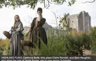 Silver Screen Surroundings: Outlander Ep101 – Ancient Scottish castles