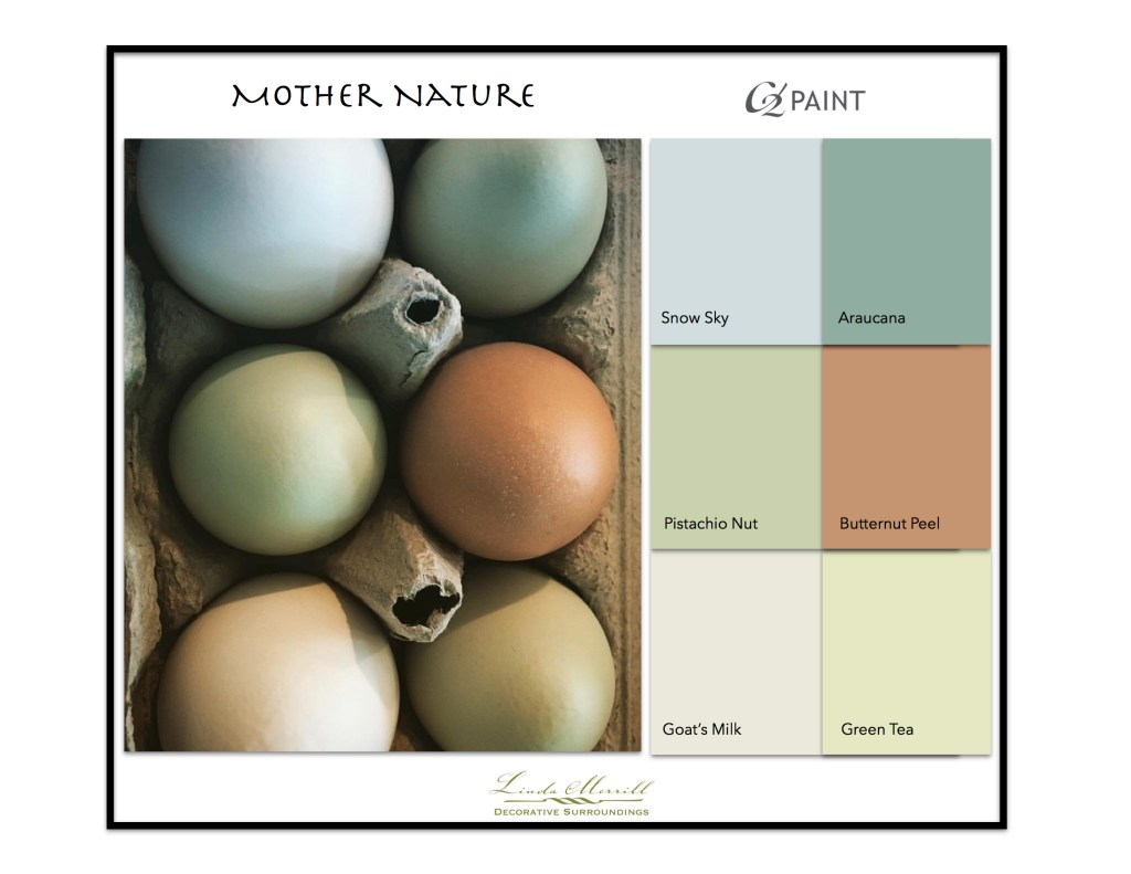 Paint Colors based on egg colors - C2 Paint
