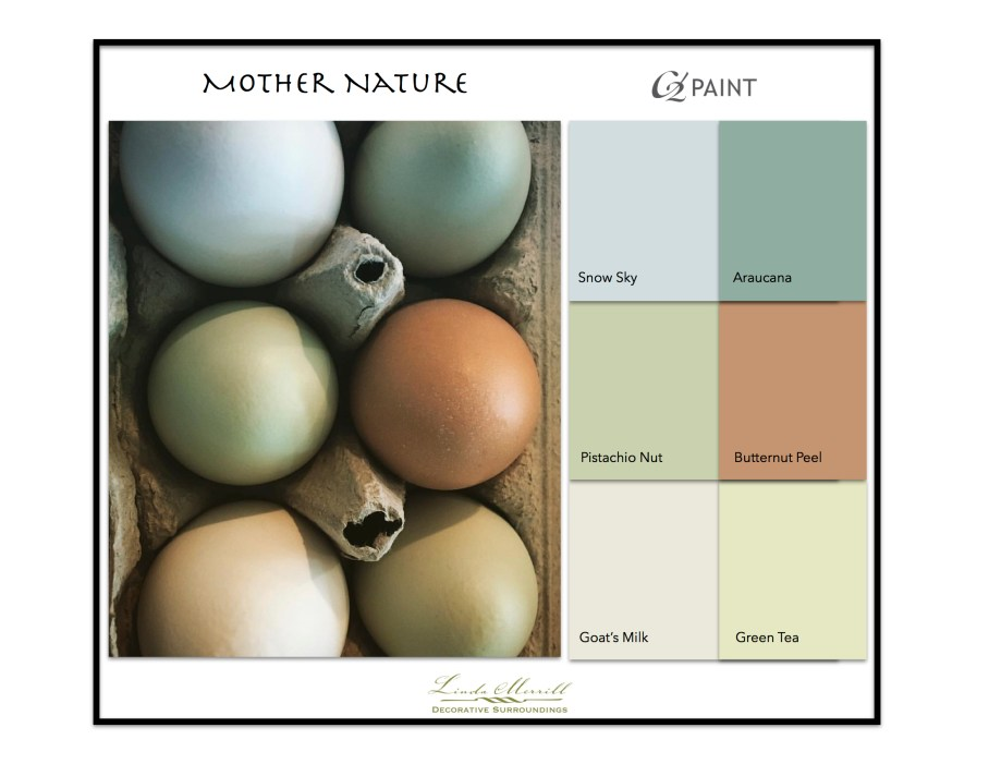 Paint Colors based on egg colors - C2 Paint