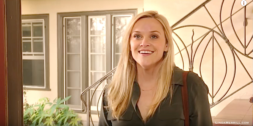 Home Again movie Reese Witherspoon at door