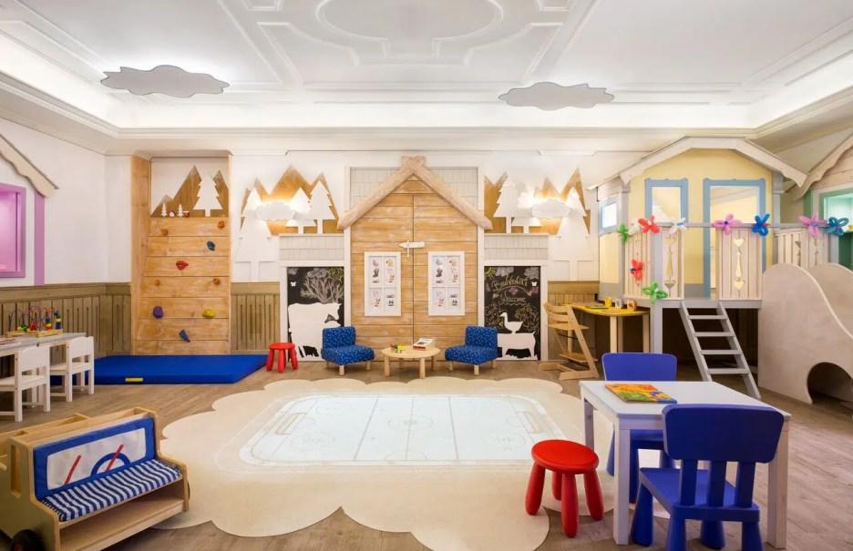 Cristallo Resort hotel kids play room