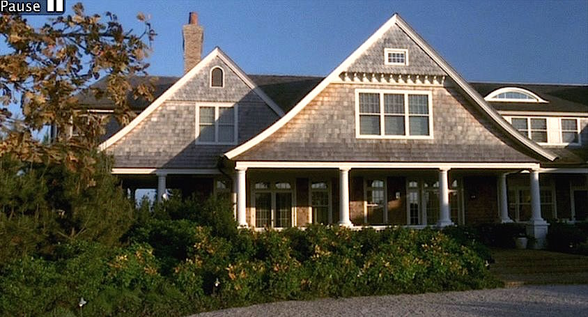 Something's Gotta Give movie house in the hamptons